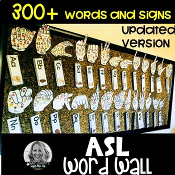 ASL DOLCH WORD WALL BUNDLE