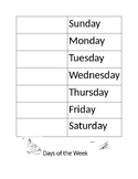 ASL Days of the Week