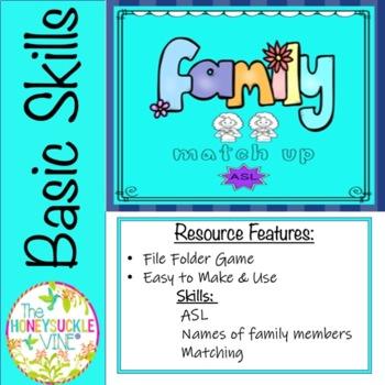 ASL Family Match-Up