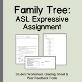 ASL Family Tree Expressive Assignment