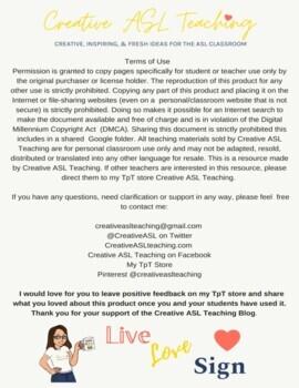 ASL Famous Deaf Person Gap Activities