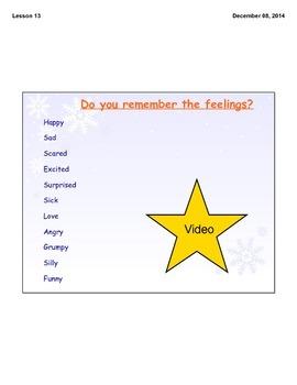 ASL Feelings Lesson