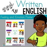 ASL: Feelings and emotion poster