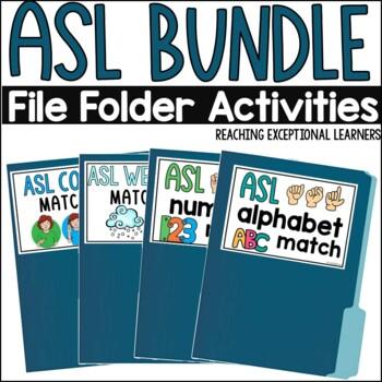 ASL File Folder BUNDLE