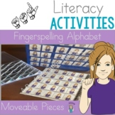 ASL Fingerspelling Alphabet Letter Moveable Pieces