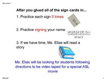 ASL Fingerspelling / Name spelling