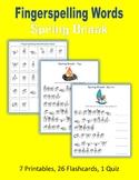 Spring Break (ASL Fingerspelling)