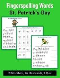 St. Patrick's Day (ASL Fingerspelling)