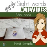 ASL First Grade Sight Word Mini Books