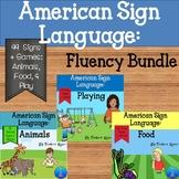 ASL Fluency Games Bundle (Distance Learning)