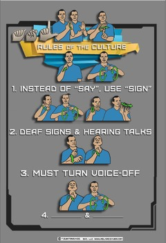 ASL Golden Rules of the Culture