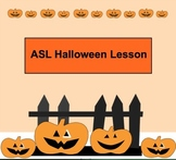 ASL Halloween Lesson