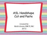 ASL Handshape Cut and Paste