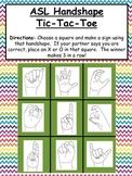 ASL Handshape Tic Tac Toe