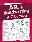 ASL Handwriting (Cursive) Unit