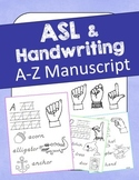 ASL Handwriting (Manuscript) Unit