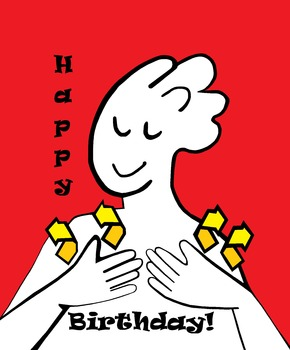 Asl Happy Birthday Poster By Eloiseart And Education Tpt