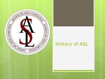 ASL History