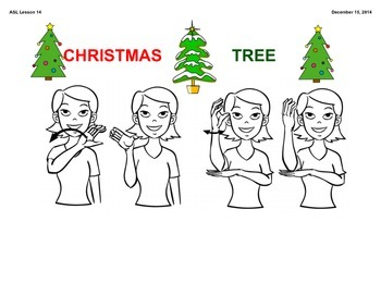 ASL Holiday Lesson