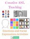 ASL How to Express Emotions - Vocabulary and Facial Expression Activity