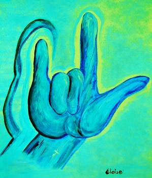 ASL I Love You POSTER