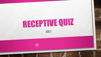 ASL I Receptive Test #7