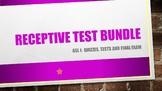 NEW!  ASL I:  Receptive Test Bundle