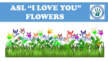 """ASL """"I love you"""" flowers (over 150 images)"""
