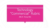 "ASL II:  Deaf Tech ""Commercial"" Rubric"