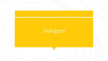 ASL II Dialogue Refresher Handouts