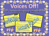 ASL Introductory Activities - Voices Off Practice