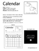 ASL Lesson Plan Book Calendar, Days of the Week (Sign Language)