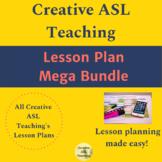 ASL Lesson Plans MEGA bundle - ASL, Deaf/HH