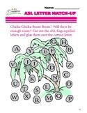 ASL Letter Match-up