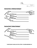 ASL Listing and Ordering Techinques Excerise Worksheet