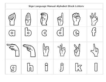 ASL Manual Alphabet