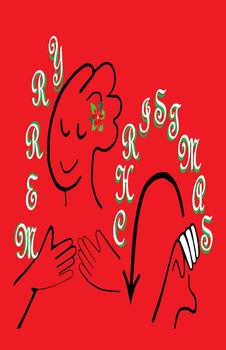 ASL Merry Christmas POSTER