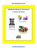 ASL: Moods of 3 Stories: Peter Pan, Xmas Carol, Alice... f