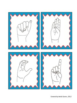 ASL Multiple Choice Response Cards