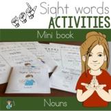 ASL Nouns Sight Word Mini Books