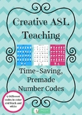 ASL Number Codes