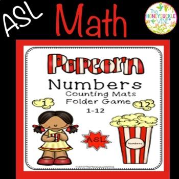 ASL Numbers Popcorn