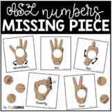 ASL Numbers to 20 Missing Pieces Task Box   Task Boxes for