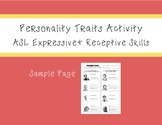 ASL Personality Traits Activity