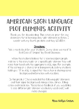 ASL Plot Element Activity