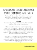 ASL Plot Element Activity