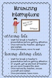 ASL Poster: Minimizing Interruptions