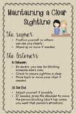 ASL Poster: Maintaining a Clear Sightline