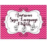 ASL Posters {alphabet}