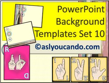 ASL Powerpoint Backgrounds Set 10